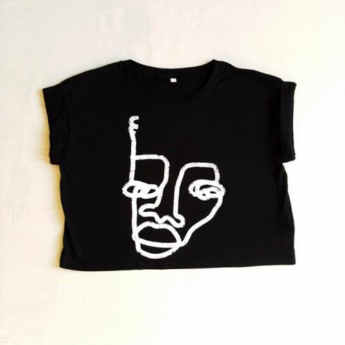 Camiseta chica corta