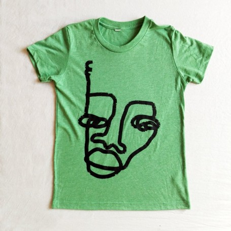 Camiseta Verde Niñxs