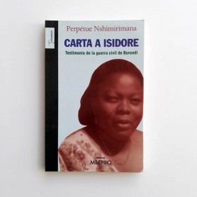 Carta a Isidore - Perpetue Nshimirimana