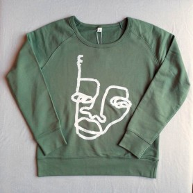Sudaderas by Mackandal - Mujer Soft Olive