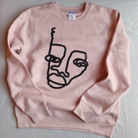 Sudaderas by Mackandal - Unisex Soft Rose