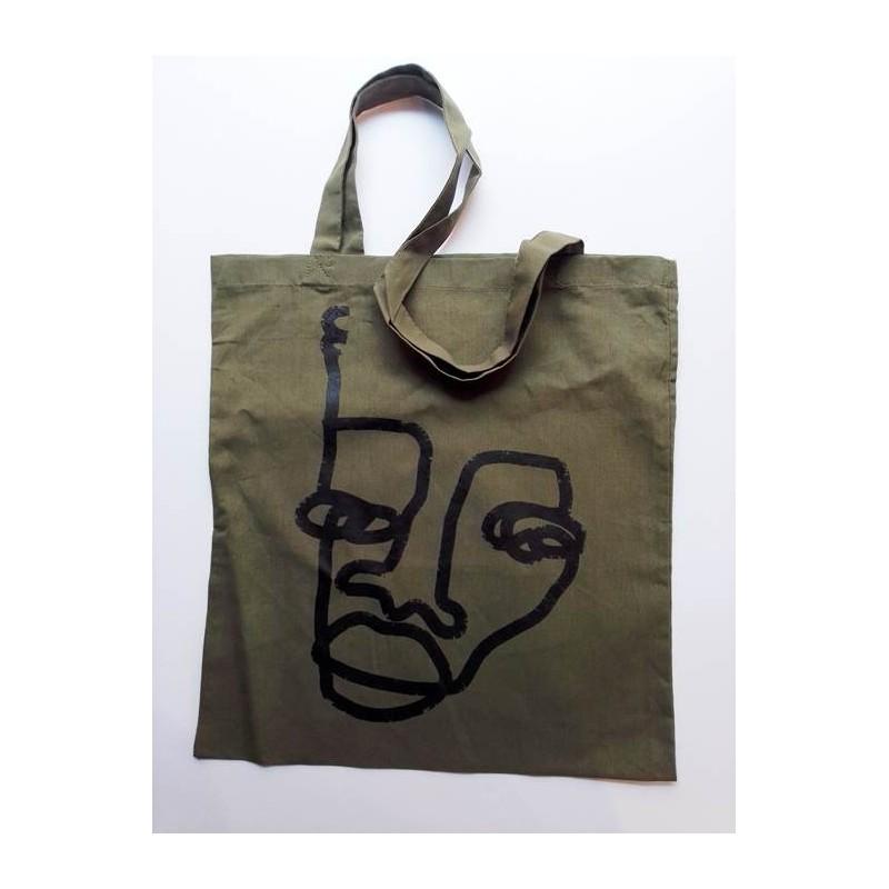 Bolso de tela by Mackandal - Verde militar