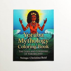 Yoruba Mythology Coloring Book.