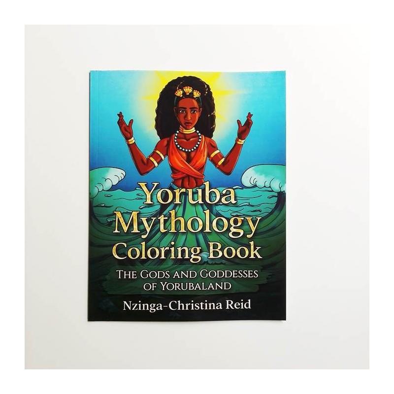 Yoruba Mythology Coloring Book.