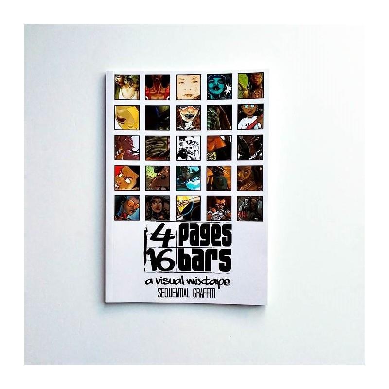 4 Pages 16 Bars: A Visual Mixtape Presents: Sequential Graffiti  - Jiba Anderson (Compilation)