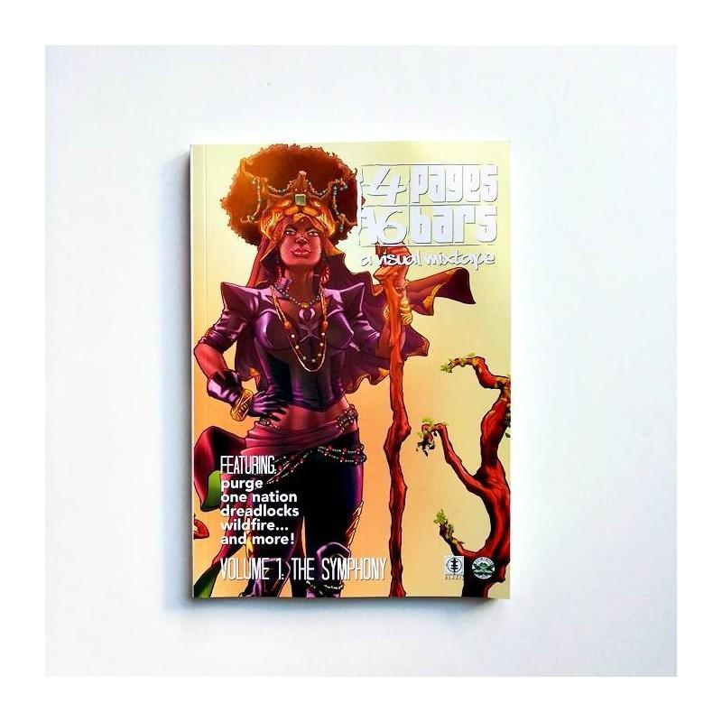 4 Pages 16 Bars: A Visual Mixtape: Vol. 01 - The Symphony - Jiba Molei Anderson