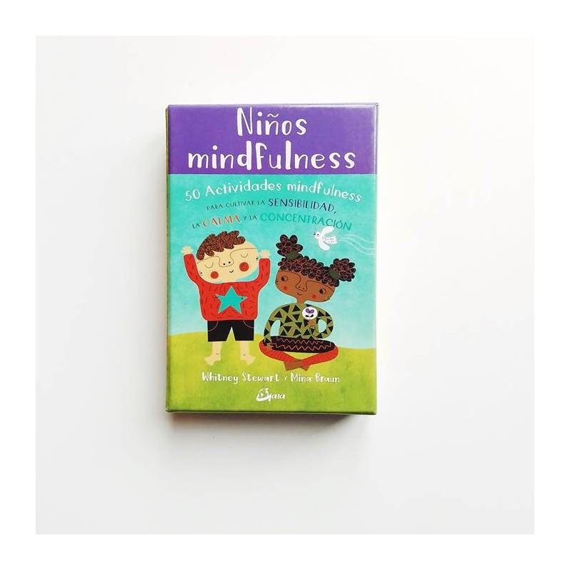 Niños Mindfulness. 50 Actividades mindfulness para cultivar la sensibilidad, la calma y la concentración