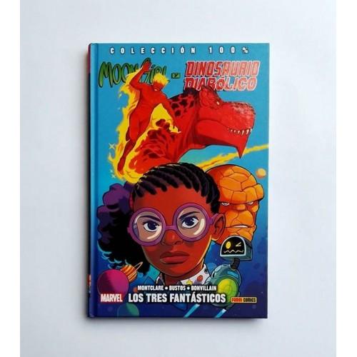 Moon Girl y dinosaurio diabólico - Los 3 fantásticos