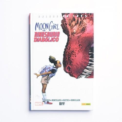 Moon Girl y Dinosaurio Diabolico